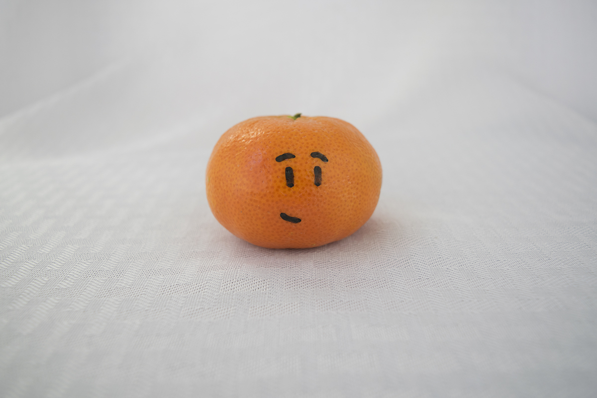 This is a content orange