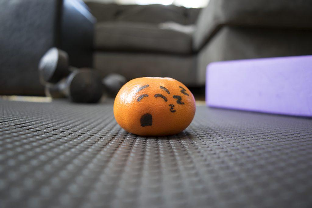 Sleepy orange